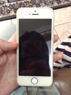 Iphone 5s gold 16gb murah