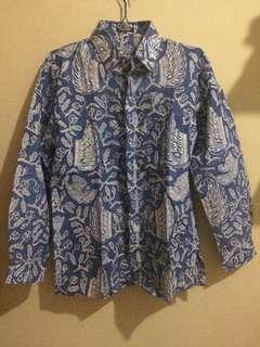 Preloved Batik Tulis Lengan Panjang