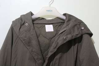 Trench Coat with detachable hoodie