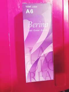 BERINA hair Colour violet A6