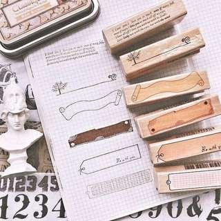 Wooden Stamp [Pre-order]
