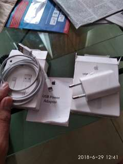 Charger iphone original ibox ada bon pembelian