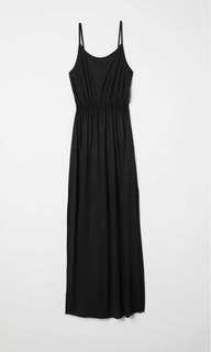 H&M maxi dress- black
