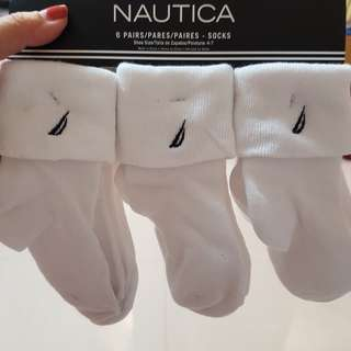 Nautica toddler socks