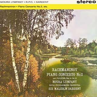 Sealed Hybrid SACD Tower Records Japan made Rachmanivov Piano Concerto #2 Moura Lympany Sir Malcolm Sargent