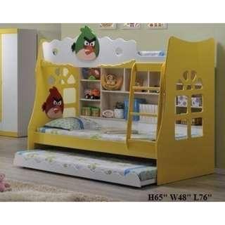 ANGRY BIRD CHILDREN BUNK BED