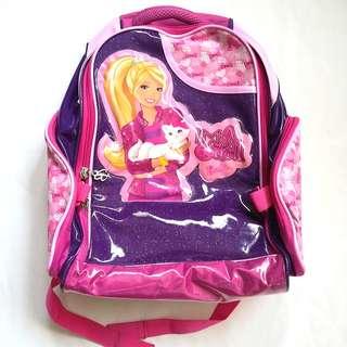 Barbie backpack / school bag