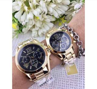 Mk watch couple 37mm,47mm authentic,unisex,Lowest price!