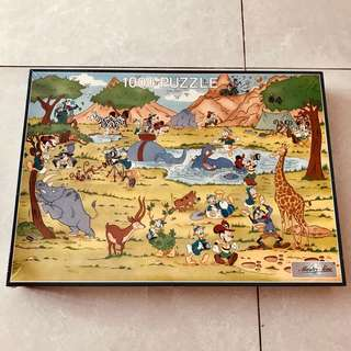 Disney Safari Jigsaw Puzzle