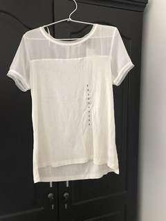 HnM white t shirt