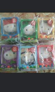 Limited Edition SG50 Hello Kitty Plush Toys