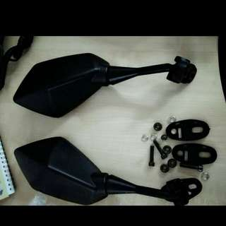 side mirror motor fairing