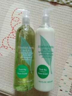 Elizabeth Arden shower gel & body lotion