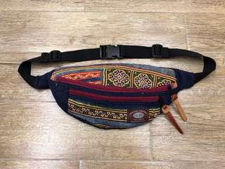 民族刺繡 腰包 100% New