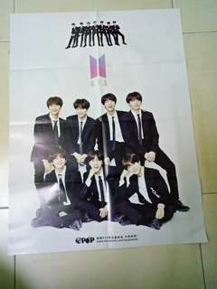 BTS ❌SHINEE POSTER