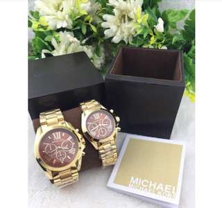 MK couple watch authentic,Pawnable,unisex,Lowest price