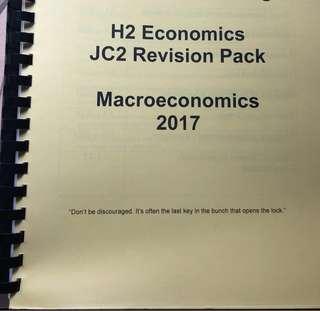 H2 Economics Macroeconomics Revision Pack