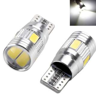 T10 LED Car HID Canbus  Wedge Light Bulb Lamp (tidak akan berkelip) ERROR FREE
