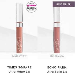 🚚 $15 for 2☆Colourpop Liquid Lipsticks (Ultra Matte & Satin Lip)