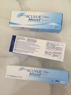 1-Day Acuvue Moist 2.00