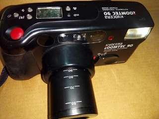 K牌底片相機,底片相機,古董相機,相機,攝影機~K牌底片相機(伸縮長鏡頭,功能正常)