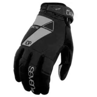 🆕! 7 iDP Black Arctic Full Finger Protective Gloves  #OK