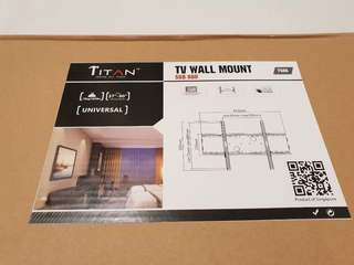 """TV Wall Mount (TV SIZE 37"""" - 90"""")"""