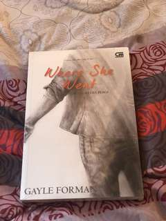 Where She Went by Gayle Forman. Terjemahan Indonesia
