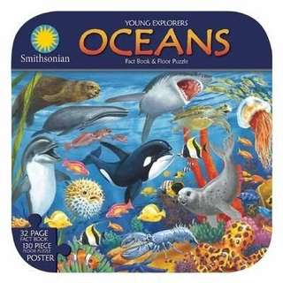 (Brand New) Smithsonian Young ExplorersOceans  By: Ruth Strother    (Novelty Book)  For Ages: 6 - 7 years old