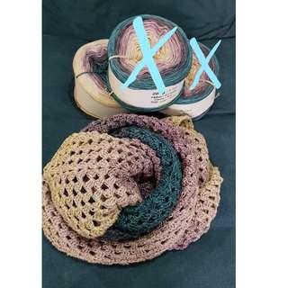 gradient yarn in Purple Metal