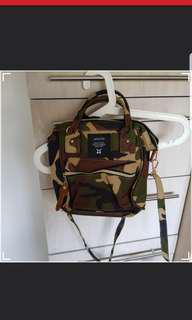 Inspired Anello Army Cameo Small Crossbody Bag