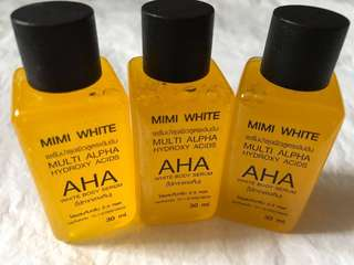 Mimi White AHA - white body serum 30ml