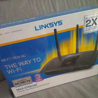 Brand New Linksys Router AC1900+
