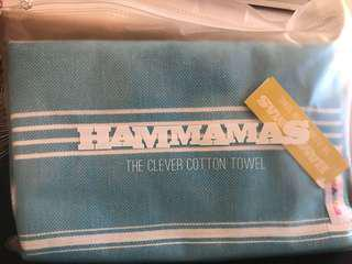 Hammamas Turkish cotton towel