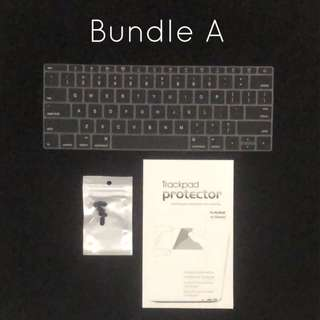 🚚 MacBook Pro with touchbar hard case keyboard protector screen protector