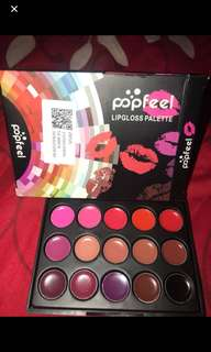 popfeel lipstick palette