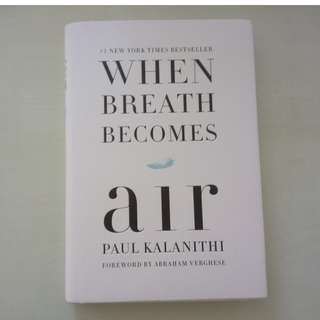 WHEN BREATH BECOMES AIR BY PAUL KALANITHI (HARDCOVER)