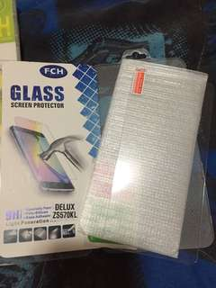 Tempered glass zenfone 3 deluxe