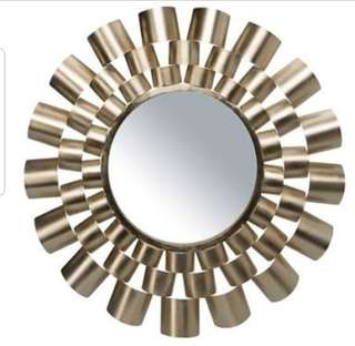 Freedom New Gold 60cm Mirror