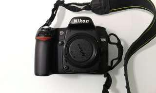 20120e53b2 Nikon D80 body only. Comes with 2x batteries