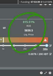 800% profit on bitcoin!