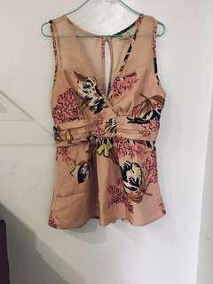 Semi-formal blouse