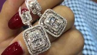 18k鑽石吊墜