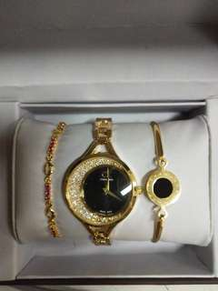 CK and AC watch set