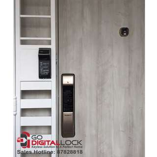 Gateman WF20 Fingerprint Digital Lock install on Main Door at $348
