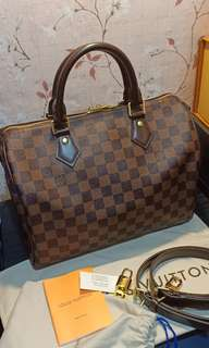 Louis Vuitton bandouliere Speedy 30