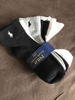 美國直送Polo RL socks短襪