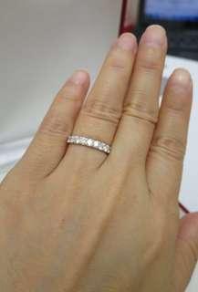 清貨秒殺價~1ct diamond ring 全新1卡 18K鑽石戒指
