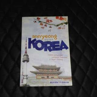 ELVIRA FIDELIA, ANNYEONG KOREA BUKU BEKAS SECOND PRELOVED
