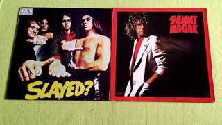 SAMMY HAGAR . street machine ● SLADE . slayed?    ( buy 1 get 1 free ) Vinyl record
